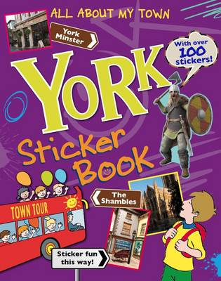 York Sticker Book: All About My Town (Paperback)