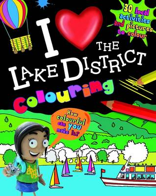 I Love the Lake District Colouring (Paperback)