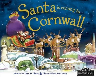 Santa is Coming to Cornwall (Hardback)