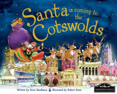 Santa is Coming to the Cotswolds (Hardback)
