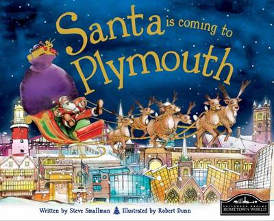 Santa is Coming to Plymouth (Hardback)