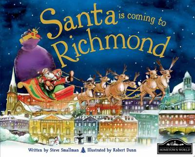 Santa is Coming to Richmond (Hardback)