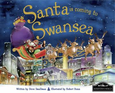 Santa is Coming to Swansea (Hardback)