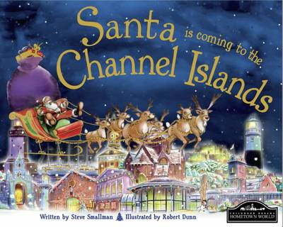 Santa is Coming to the Channel Islands (Hardback)