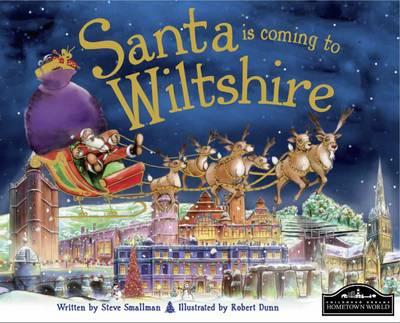 Santa is Coming to Wiltshire (Hardback)