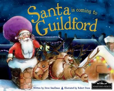 Santa is Coming to Guildford (Hardback)