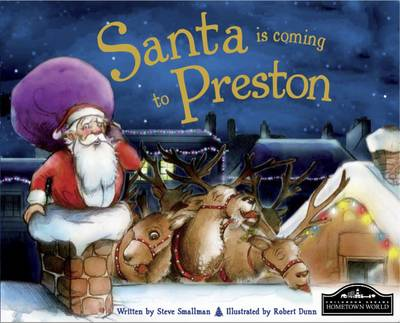 Santa is Coming to Preston (Hardback)