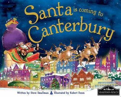 Santa is Coming to Canterbury (Hardback)