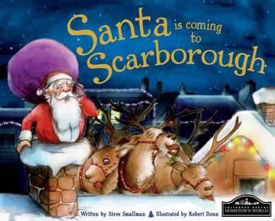 Santa is Coming to Scarborough (Hardback)