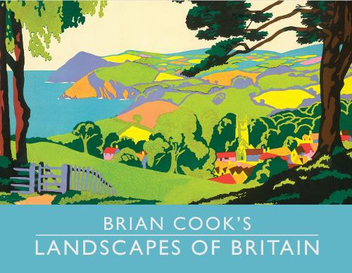 Brian Cook's Landscapes of Britain: a guide to Britain in beautiful book illustration, mini edition (Hardback)
