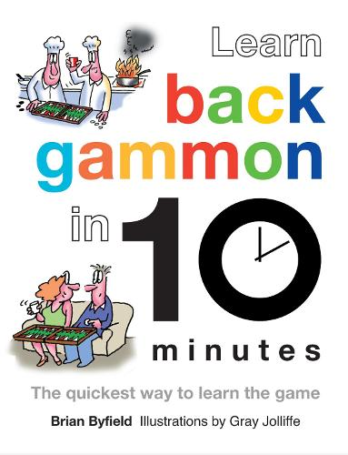 Learn Backgammon in 10 Minutes (Hardback)