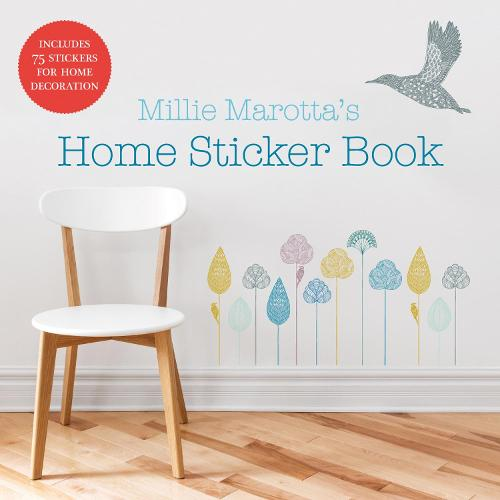 Millie Marotta's Home Sticker Book: over 75 stickers or decals for wall and home decoration - Millie Marotta 6 (Paperback)