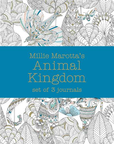 Millie Marotta's Animal Kingdom - journal set: 3 notebooks - Millie Marotta 8 (Paperback)