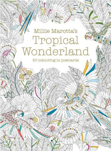 Millie Marottas Tropical Wonderland Postcard Box