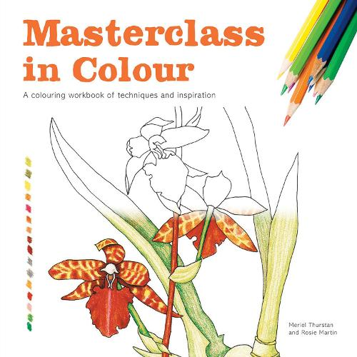 Masterclass In Colour A Colouring Workbook Of Techniques And Inspiration Paperback