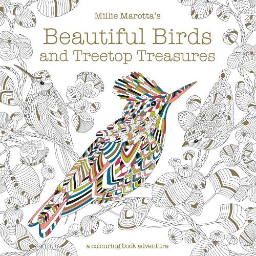 Millie Marottas Beautiful Birds And Treetop Treasures A Colouring Book Adventure