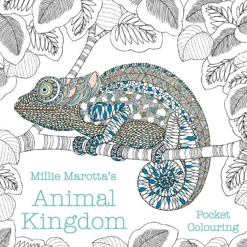 Millie Marotta's Animal Kingdom Pocket Colouring - Millie Marotta (Paperback)