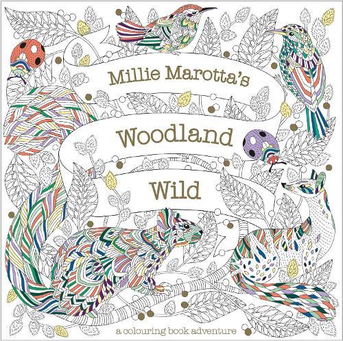 Millie Marotta's Woodland Wild - Millie Marotta 24 (Paperback)