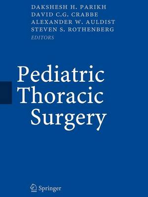 Pediatric Thoracic Surgery (Paperback)
