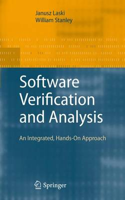 Software Verification and Analysis: An Integrated, Hands-On Approach (Paperback)