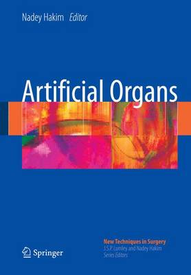 Artificial Organs - New Techniques in Surgery Series 4 (Paperback)