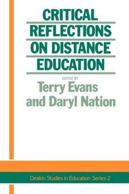 Critical Reflections On Distance Education (Paperback)