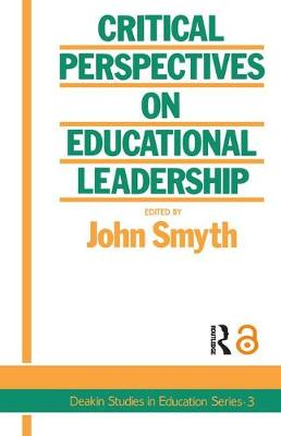 Critical Perspectives On Educational Leadership (Paperback)