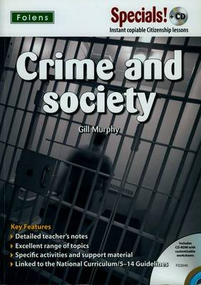 Secondary Specials! +CD: PSHE - Crime & Society - Secondary Specials! +CD