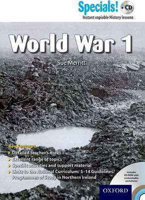 Secondary Specials! +CD: History - World War 1 - Secondary Specials! +CD
