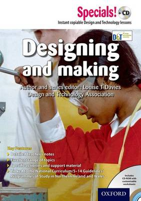 Secondary Specials! +CD: D&T - Designing and Making