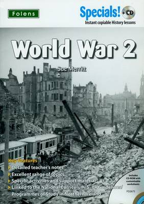 Secondary Specials! +CD: History - World War 2 - Secondary Specials! +CD
