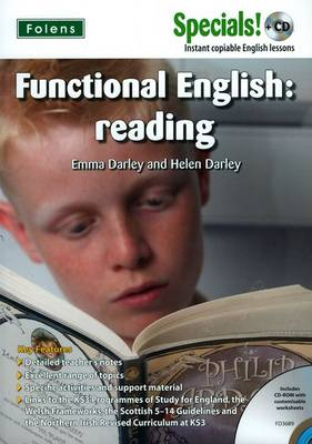 Secondary Specials! +CD: English - Functional English Reading - Secondary Specials! +CD