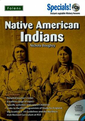 Secondary Specials! +CD History - Native American Indians