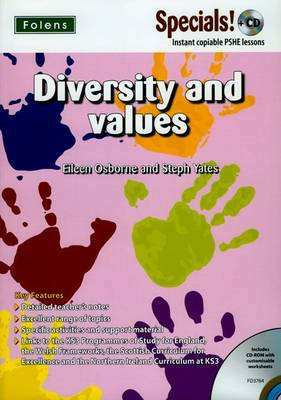 Secondary Specials! +CD: PSHE - Diversity and Values - Secondary Specials! +CD