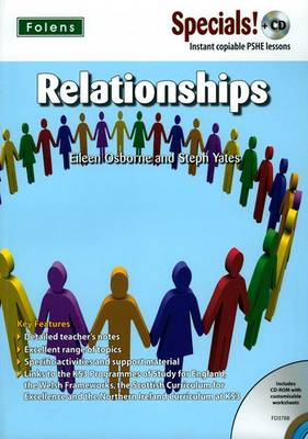 Secondary Specials! +CD: PSHE - Relationships