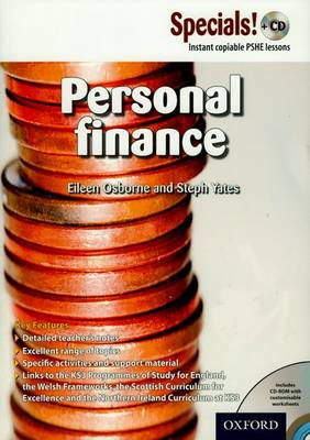 Secondary Specials! +CD: PSHE - Personal Finance
