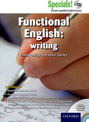 Secondary Specials! +CD: English - Functional English Writing - Secondary Specials! +CD