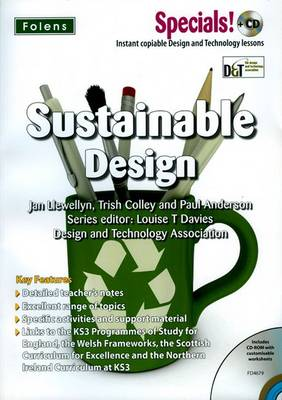 Secondary Specials! +CD: D&T - Sustainable Design