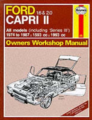 Ford Capri II All Models 1974-87 Owner's Workshop Manual - Service & repair manuals (Hardback)