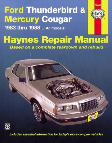 Ford Thunderbird & Mercury Cougar (83 - 88) (Hardback)
