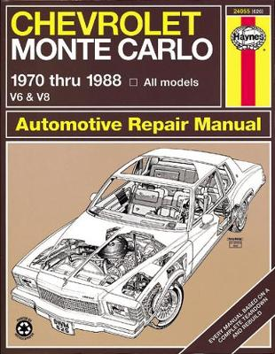 Chevrolet Monte Carlo (70 - 88) (Paperback)