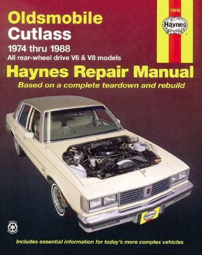 Oldsmobile Cutlass (74 - 88) (Paperback)