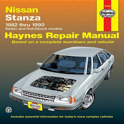 Nissan/Datsun Stanza 1982-90 Sedan and Hatchback Automotive Repair Manual (Paperback)