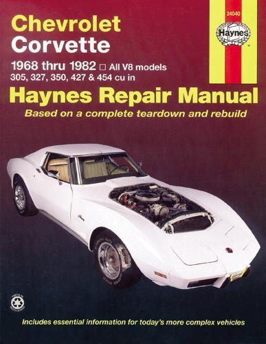 Chevrolet Corvette (68 - 82) (Paperback)