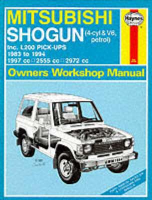 mitsubishi shogun and l200 owner s workshop manual by larry warren rh waterstones com Mitsubishi L200 4x4 Engine Mitsubishi L200 Single Cab Diesel