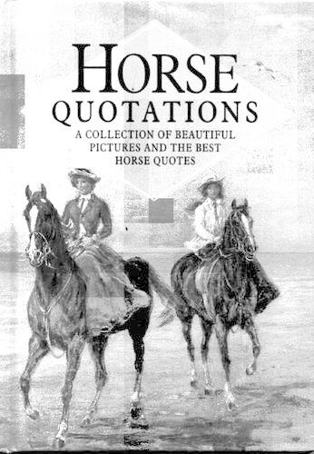 Horse Quotations - In Quotations (Hardback)