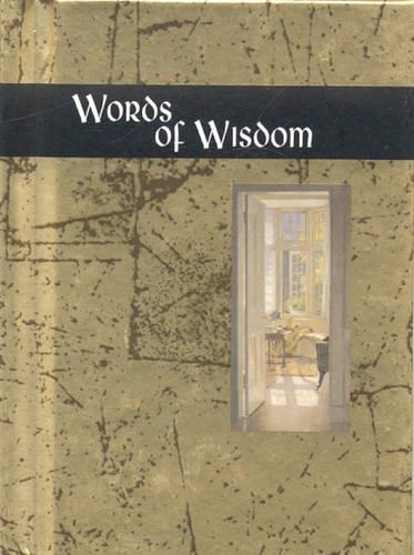 Words of Wisdom - Words for life (Hardback)