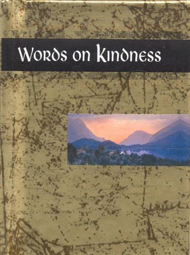 Words on Kindness - Words for life (Hardback)
