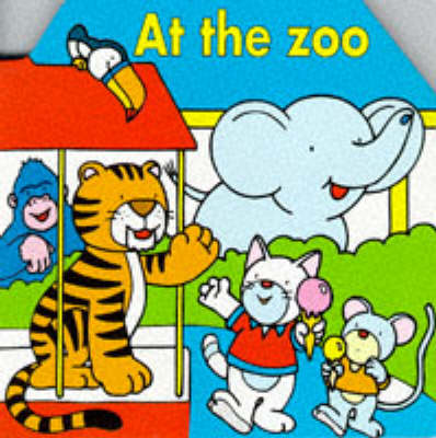 At the Zoo - Die-Cut Baby Dictionary S. (Board book)