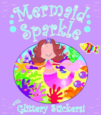 Glitter Mermaid Sticker Book (Paperback)